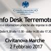 INFO DESK TERREMOTO: il 2 Febbraio a Civitanova Marche