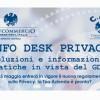 """""""Info Desk Privacy: soluzioni e informazioni pratiche in vista del GDPR"""""""