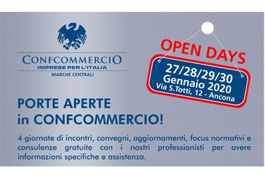 27-28-29-30 GENNAIO OPEN DAYS: IL PROGRAMMA COMPLETO