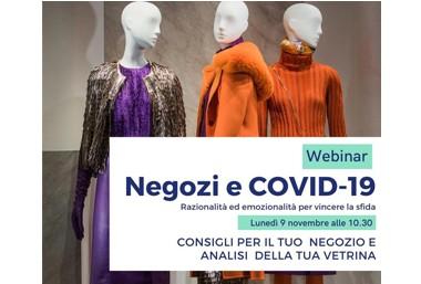 WEBINAR GRATUITO: NEGOZI E COVID-19